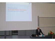 Verabschiedung der Absolventinnen und Absolventen des Akademischen Jahres 2013/2014