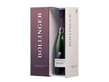 Öppen giftbox Bollinger La Grande Année Rosé Brut 2007