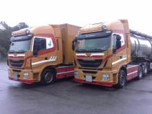 To nye tre-akslede Iveco Stralis med 560 hk til H & E Sejersen Transport