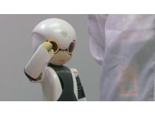 Talande rymdroboten Kirobo satte två Guinness-rekord