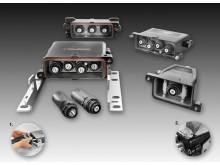 Weidmüllers RockStar® HighPower 250 A – en- till fyrpoligt kontaktdon med crimpanslutning, för 250 A och upp till 4000 V