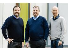 Werner Wolf und Infrasonics Geschäftsleitung