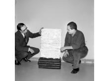 Aage Damgaard og Piero Manzoni
