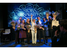 Vinnarna av Stora Journalistpriset 2014 2