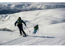 Skifahren in Voss, Fjordnorwegen