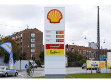 Shell servicestation