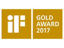 iF Gold Award 2017 gold