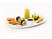 Sushi med lakrits