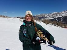 Speedskiåkaren Britta Backlund