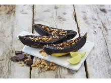 Grillede bananer