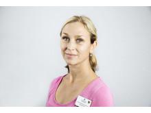 Anna Ekenberg Abreu, patientsäkerhets- och kvalitetssamordnare på BB