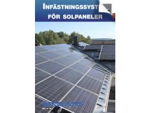 Infästningsdetaljer för solpaneler