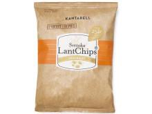 Produktbild: LantChips Kantarell