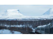 Sveriges vackraste tågresa bild 8  - Andrapristagare: Kiruna-Narvik