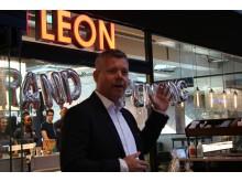 Sverre Helno, CEO Umoe Restaurants