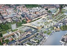 Västerås nya resecentrum - taket