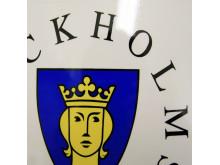 Infoskylt Stockholms Stad