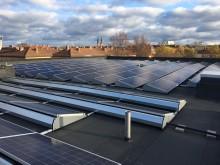 Solcellsanläggning på Tiundaskolan