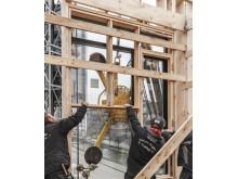 Upcycle Studios, brugte vinduer får ny udsigt i Ørestad Syd