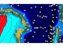 Hi-res image - C-MAP - Genesis Custom-Colour Depth-Shading