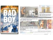 Badboy: Steroid illustrasjonsbilde