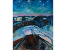 Edvard Munch: Stjernenatt, 1922