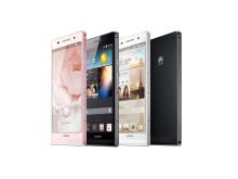Huawei Ascend P6 rosa/svart/vit