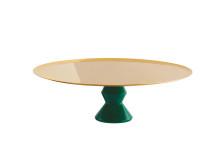SBT_Madame_Servierständer_30cm_PVD_Gold_Kunstharz_Malachit_grün
