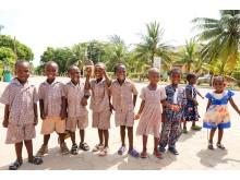 Barn  i Benin