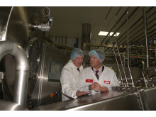 Owen Paterson Learning About How The Butter Is Made