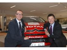 Jan Martinsson, Svenska Bil, och Magnus Bengtsson, Citroën Sverige