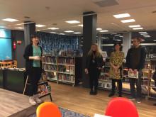 Kulturbyrådet taler under meråpent-lansering på Bjerke