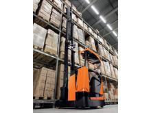 BT Reflex skjutstativtruck - tiltande förarhytt