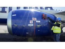 Robotinspektion av flygplan