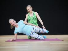 Katarina Woxnerud håller klass i Total body & core