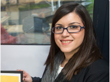 Nicole Ayiomamitou helped to develop Panalpina's new inventory forecasting application D2ID