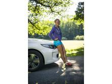 Kia får ny samarbetspartner_Emelie Forsberg_Optima Sportswagon Plug-in Hybrid