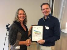 Marianne Olsen tildeles Miljøringenprisen