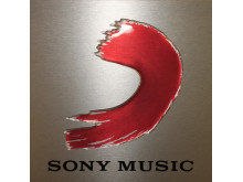 Metallskylt Sony music