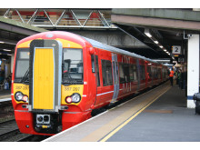 Gatwick Express new 387 2s at station