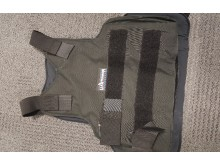Bulletproof vest worn by Mitchell