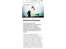 Eskilstunaevolution.se mobil