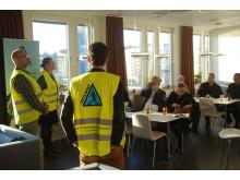 Skotta säkert frukostmöte i Stockholm 131003