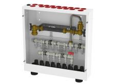 Tappvattenskåp för kommunal vattenmätare