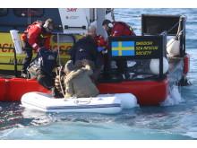 Sjöräddningssällskapet har räddat 1 000 personer i Medelhavet