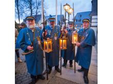 Zwönitzer Nachtwächter laden zur WEihnachtszeit ebenfalls ein. Krönender Abschluss ist die Zwönitzer Lichtmess (02.Februar)