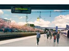 Karlshamns stationsområde i framtiden