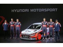 New Generation Hyundai i20 WRC team1