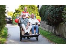 Cykelturer ska råda bot på ensamhet
