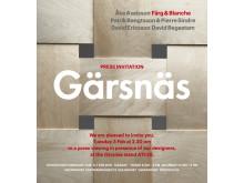 Press viewing Gärsnäs Stockholm Furniture Fair 2015